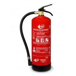Extintor de polvo ABC de 6 kg