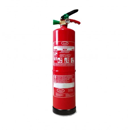 Extintor de polvo ABC de 2 kg
