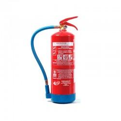 Extintor de agua + aditivos de 9 litros