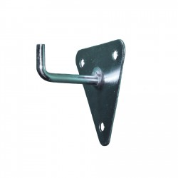 Soporte triangular de pared extintor CO2.