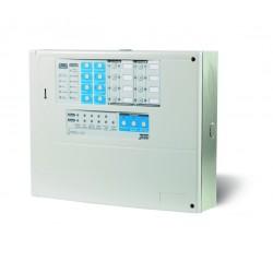 Central convencional de Detección de Incendios con microprocesador de 2 zonas homologada CE según EN54. No ampliable.