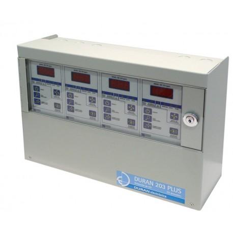 Central No Ampliable de Detección de Monóxido de 4 zonas (hasta 56 detectores).