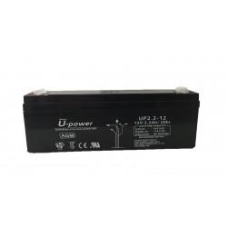 Batería U-Power 12v 2,2 ah