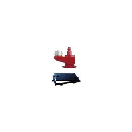 """Hidrante bajo rasante de 4"""" (DN100) con 1 salida de 100 mm (racor + tapón bombero) con cerco y tapa incluido."""