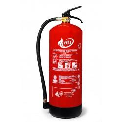 Extintor de polvo ABC de 9 kg