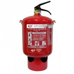 Extintor automático de polvo ABC de 6 kg