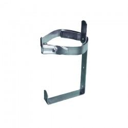 Soporte metálico de fleje para instalar en vehículo 1 extintor de polvo de 6 kg