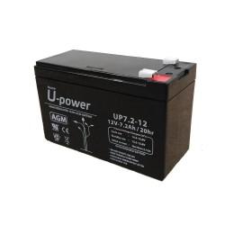 Batería U-Power 12v 7ah